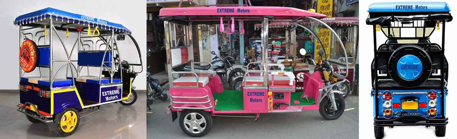 Manufacturer of E-ricksha in patna